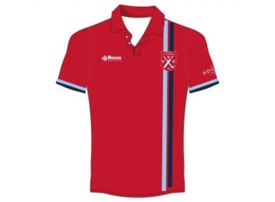 VVV Senior Keepersshirt Rood