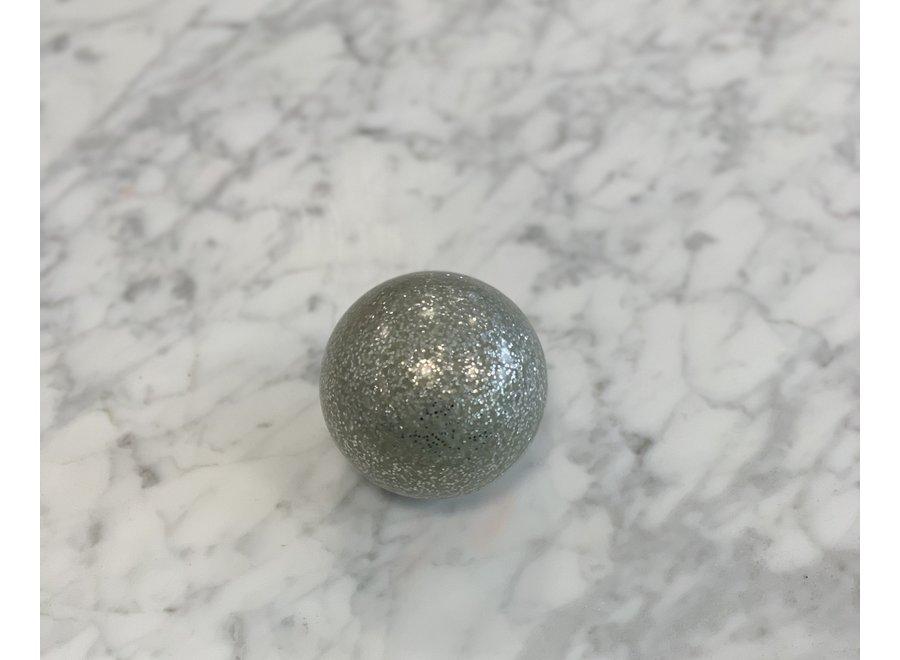 Hockeybal Silver Glitter