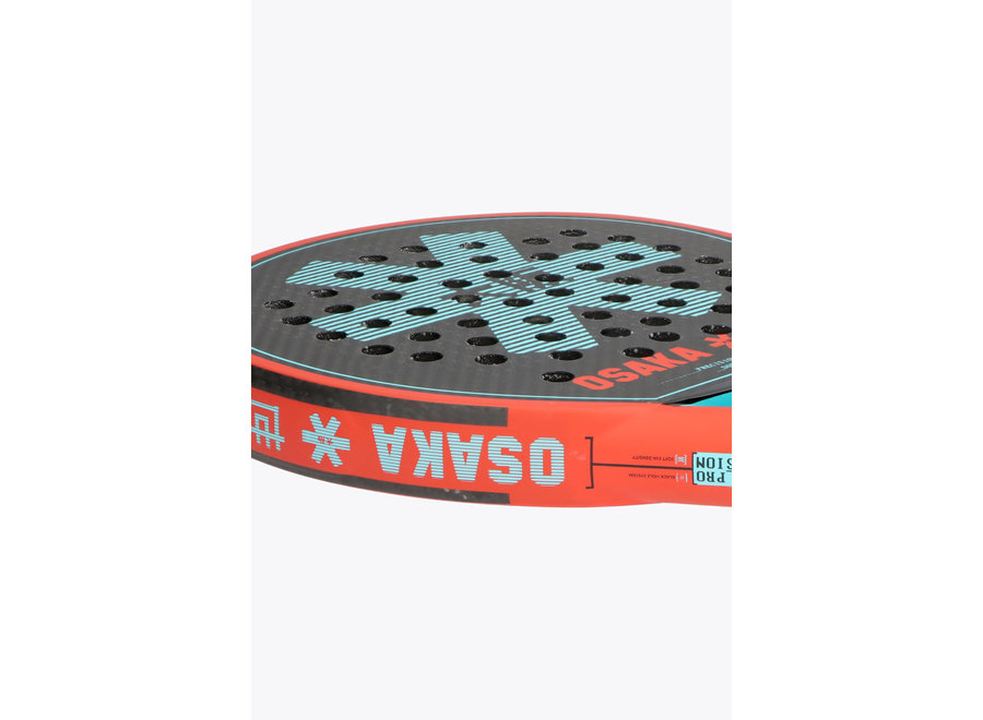PADEL VISION PRO precision oxy / red / aqua blue