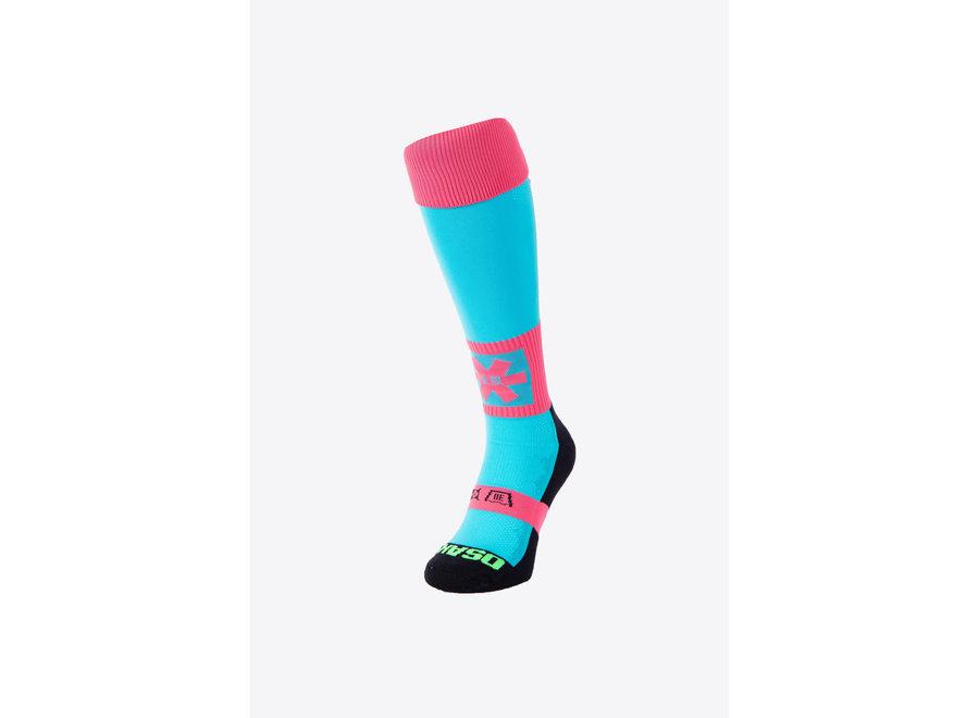 Osaka Socks AQUA/PINK