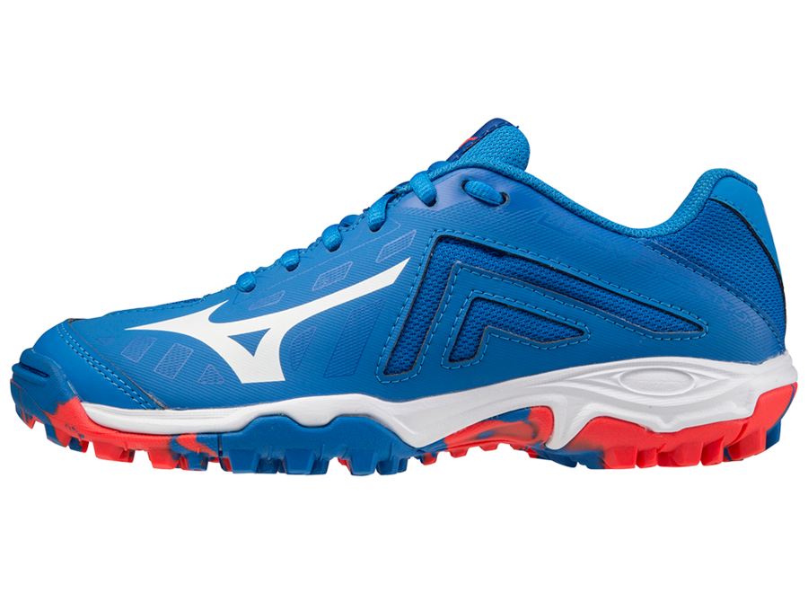 WAVE LYNX JUNIOR PRINCESS BLUE / WHITE / IGNITION RED
