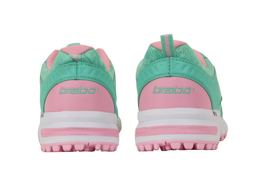 BRABO SHOES TRIBUTE GREEN/PINK