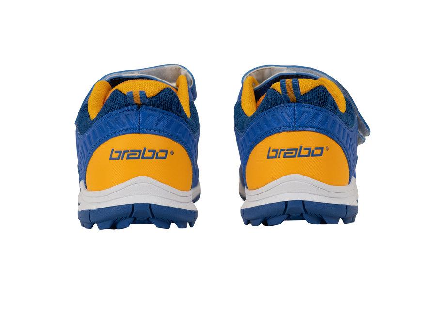 BRABO SHOE VELCRO BLUE/ORANGE