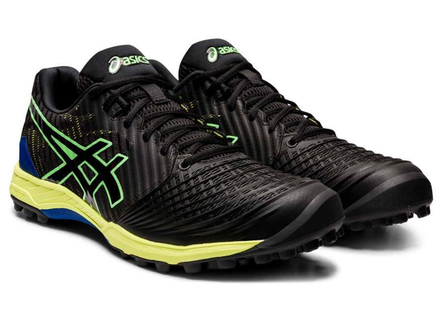 Asics Field Ultimate FF BLACK/BRIGHT LIME