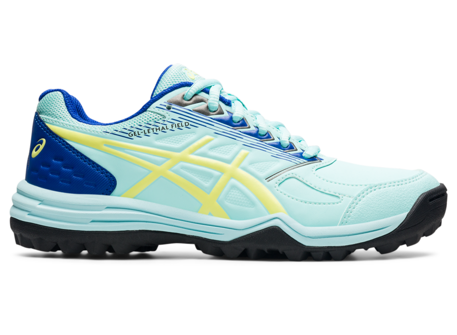 Asics Gel -Lethal Field CLEAR BLUE/GLOW YELLOW