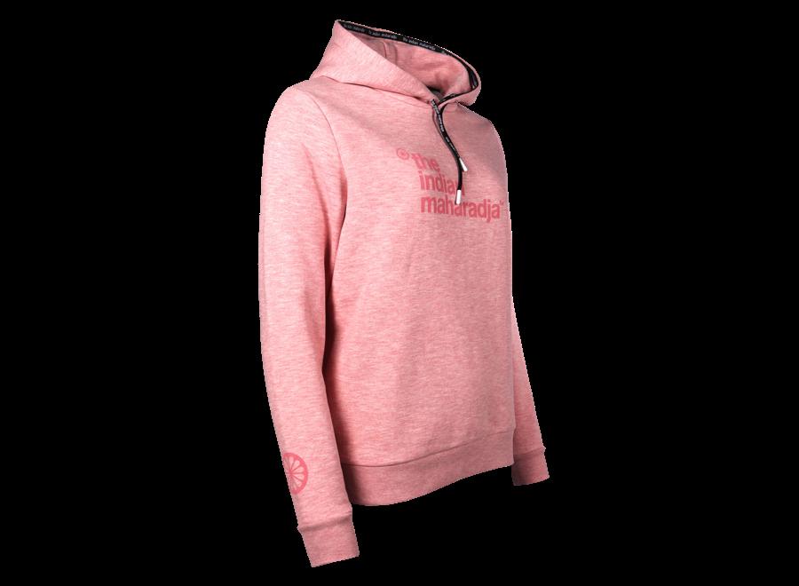 Women Fun Hooded Block IM pink