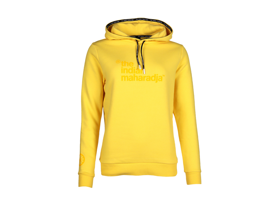 Women Fun Hooded Block IM yellow