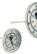 Big Green Egg Tel-Tru thermometer