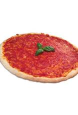 Pizzabodems met tomatensaus