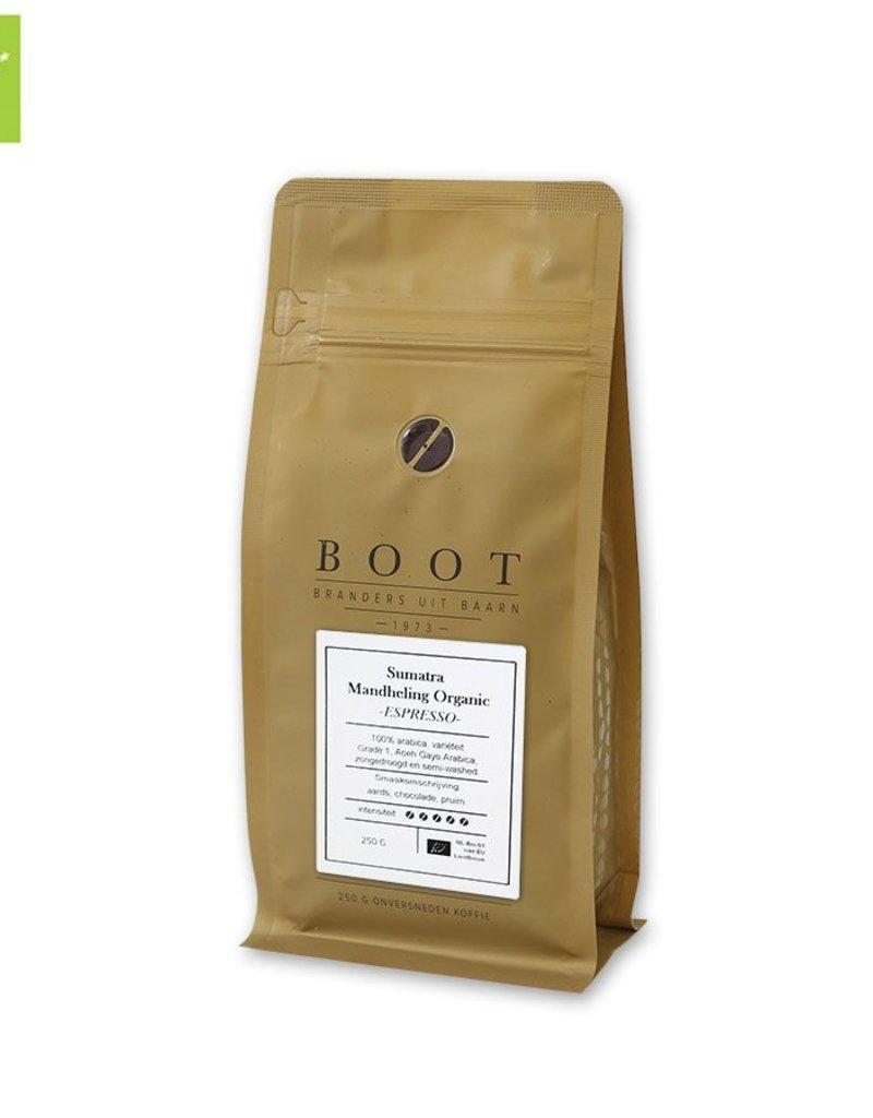 Bootkoffie Sumatra Mandheling Organic