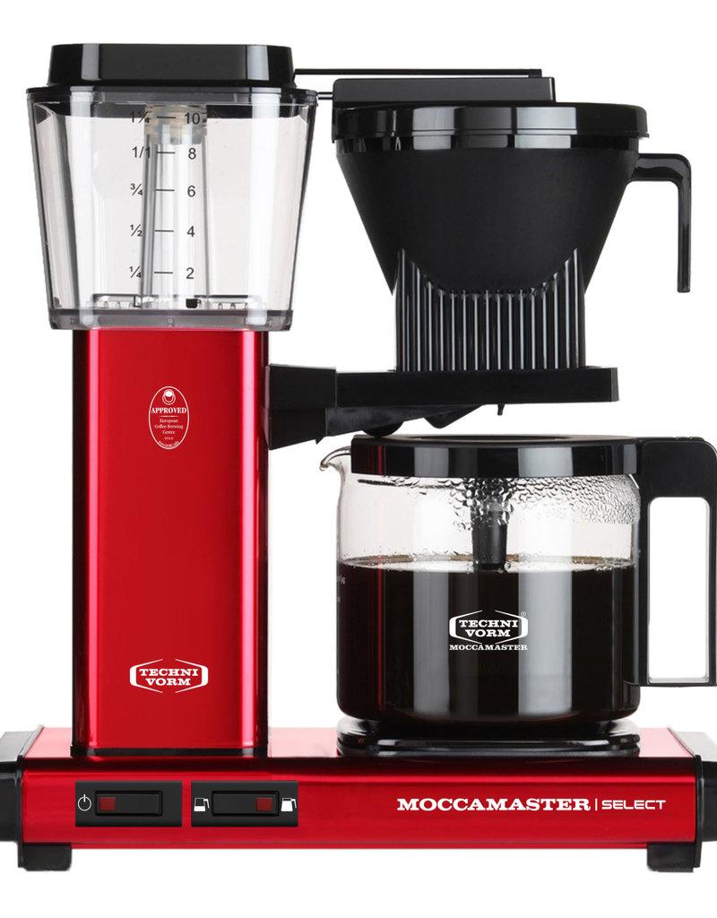 Moccamaster KBG Select Red Metallic