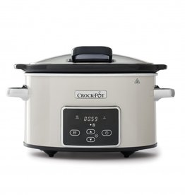 Crockpot Slowcooker Crème Wit Digital 3,5L