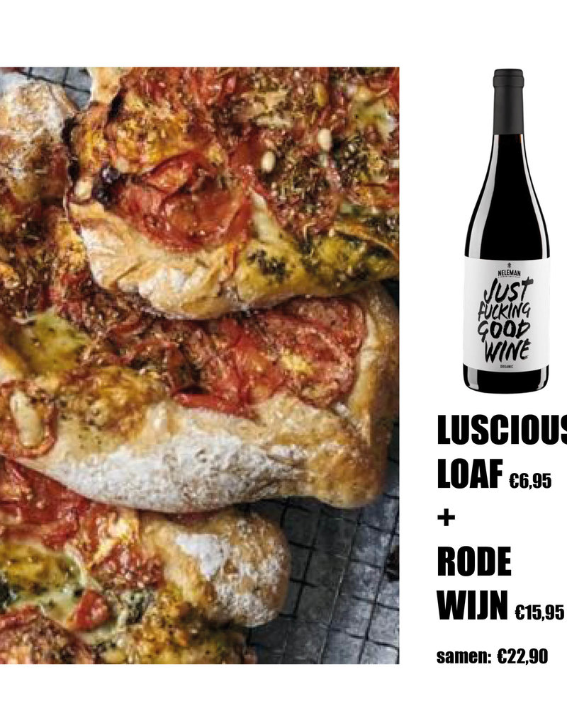 Luscious Loaf + rode wijn