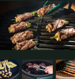 Big Green Egg i.c.m. Big Green Egg verhuur: gietijzer rooster