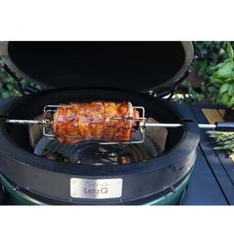 Big Green Egg i.c.m. Big Green Egg verhuur:  LetzQ Rotisserie Spit