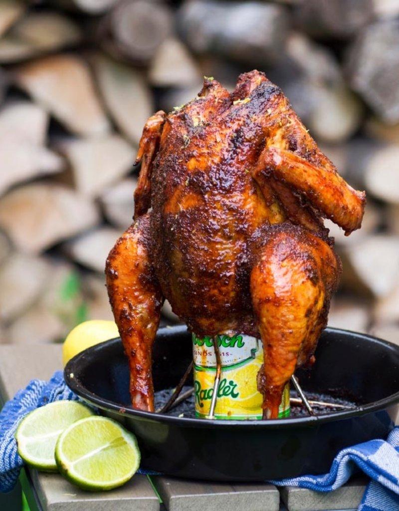 Big Green Egg Beer Can Chicken Roaster