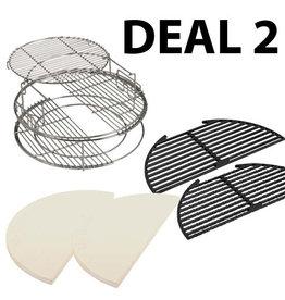 Big Green Egg EGGSpander deal 2, prijs vanaf: