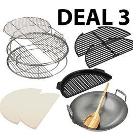 Big Green Egg EGGSpander deal 3, prijs vanaf: