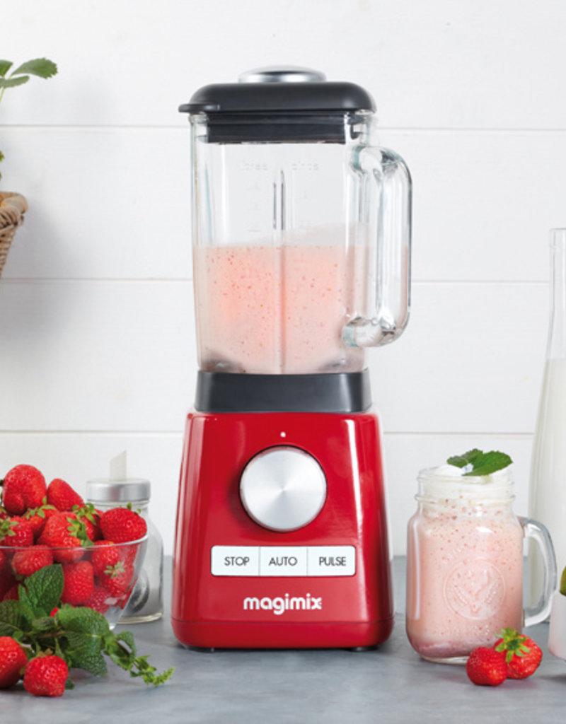 Magimix Magimix Power Blender - rood / zwart / wit