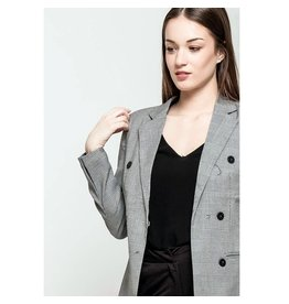 EXES Private E. Z18 CHECK BLAZER GREY