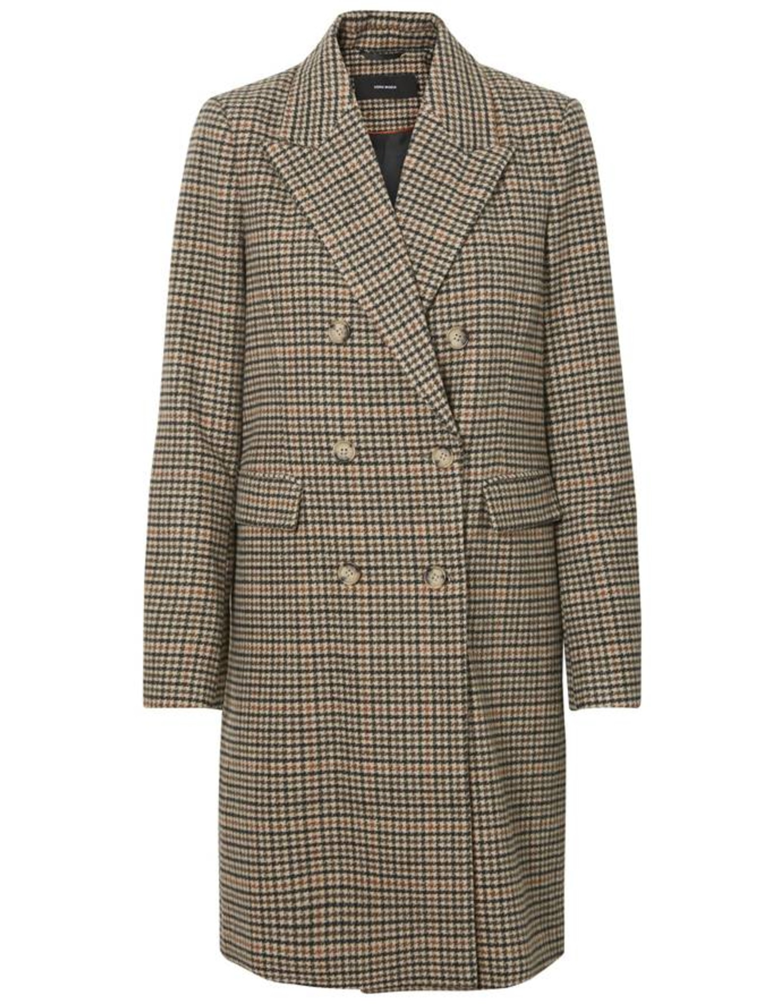 ROYAL CHECKS COAT RUST