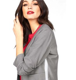 ONLY O. Z19 ROMA PANEL BLAZER GREY