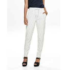 ONLY O. Z19 NOOS POPTRASH PANT STRIPE CLOUD