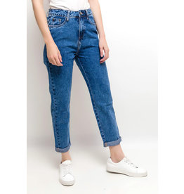 EXES Private E. Z19 MOM JEANS MD BLUE