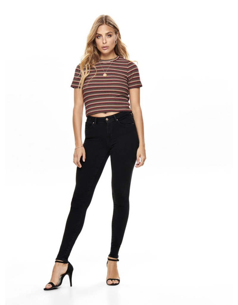 ONLY O. W19 NELLA TOP GINGER