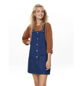 ONLY O. W19 AMA DENIM DRESS DK BLUE