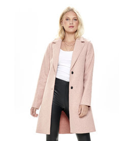 CARRIE COAT ROSE