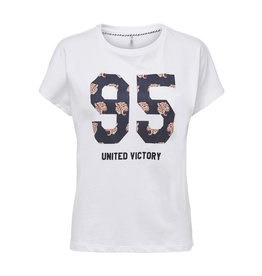 ONLY V. W19 SELENA T SHIRT WHITE