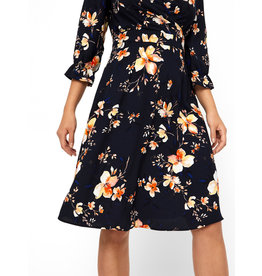 V. W19 REEZA DRESS NAVY