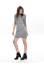 ONLY O. W19 NOOS CHECK DRESS CLOUD