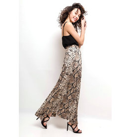 EXES Private E. W19 ELENA SKIRT SNAKE