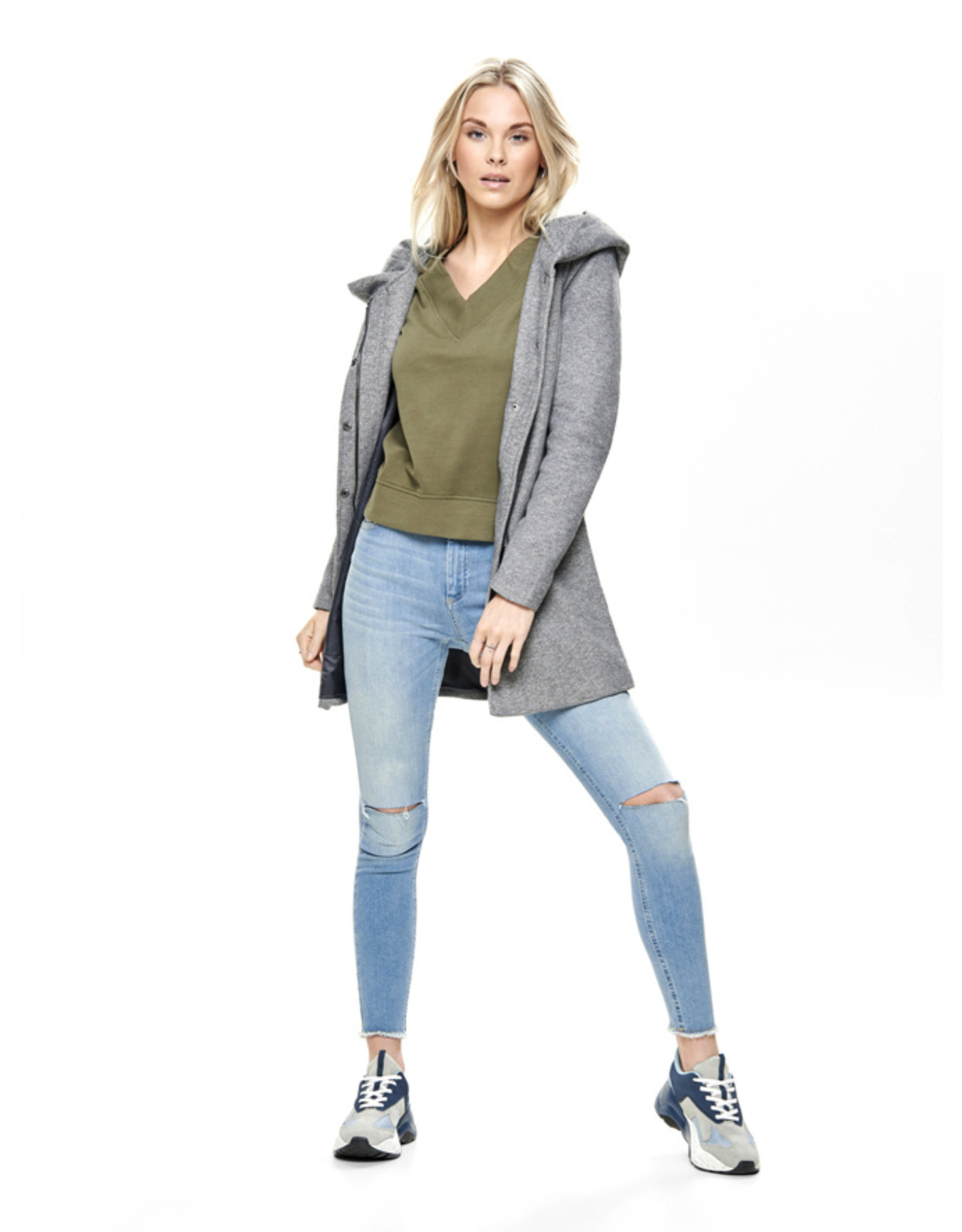 SEDONA COAT LT GREY