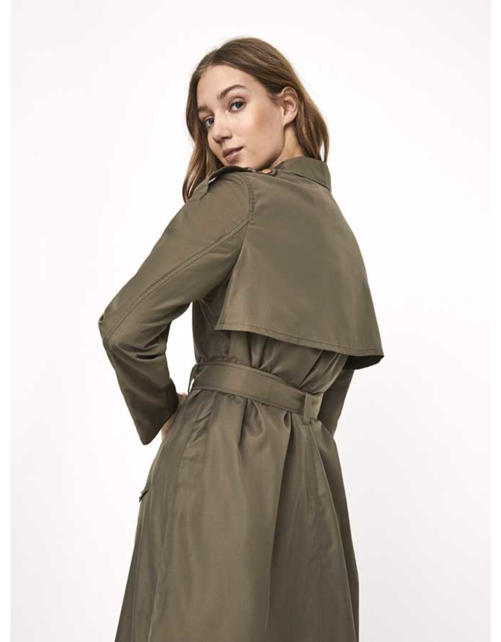 ELYA TRENCH BUNGEE