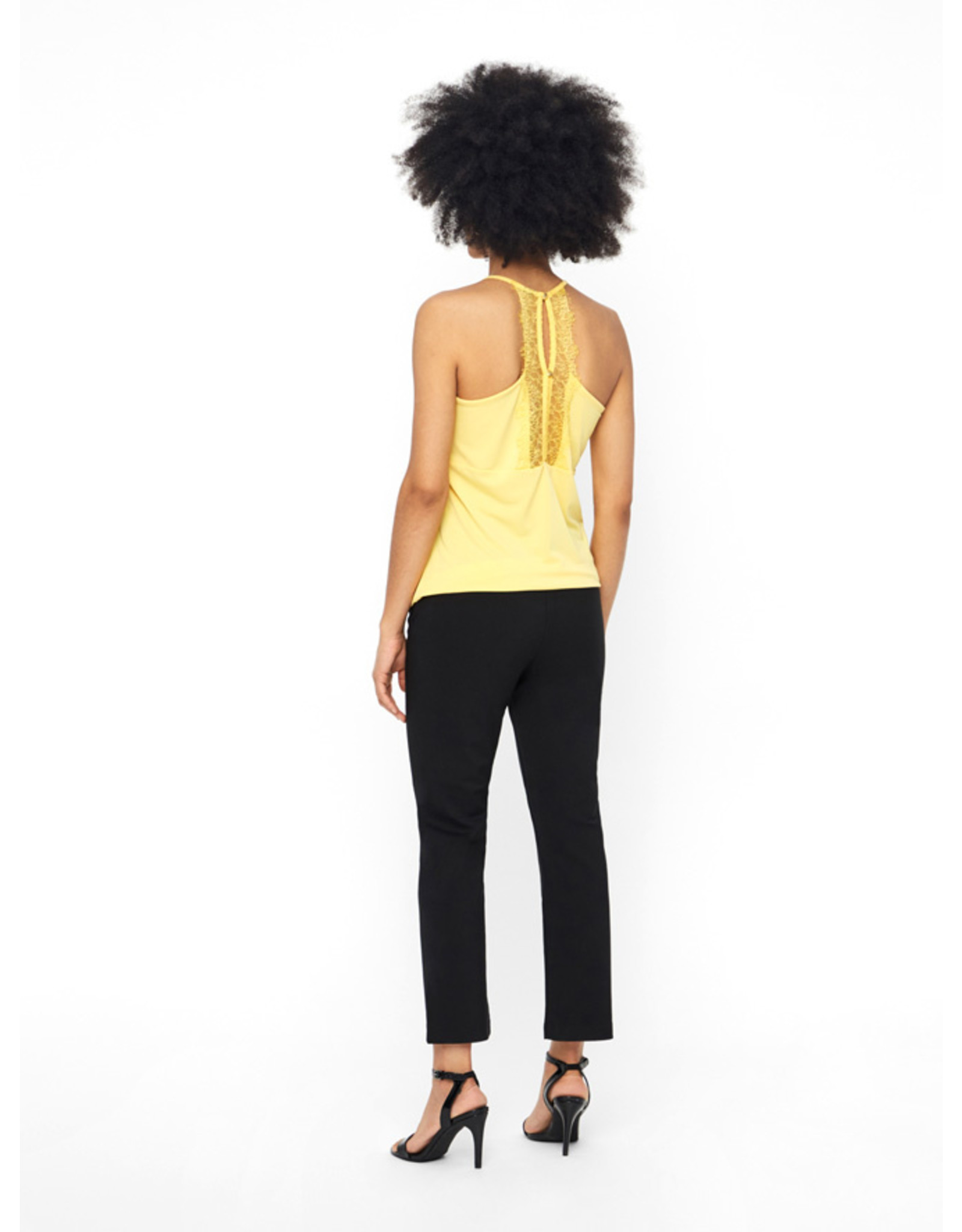 MILLA LACE TOP YELLOW