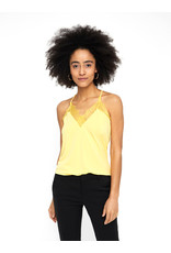 V. Z20 MILLA LACE TOP YELLOW