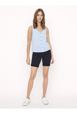 V. Z20 SASHA BUTTON TOP BLUE