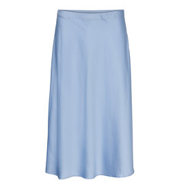 V. Z20 LAURA SATIN SKIRT BLUE