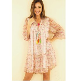 LIBERTY DRESS ROSE