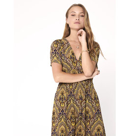 VIDE S/S DRESS GOLDEN