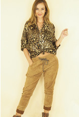 C. W20 ANDRA SUEDE PANT CAMEL