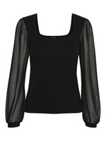 MABEL TOP BLACK