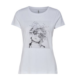 ELLIE T SHIRT WHITE