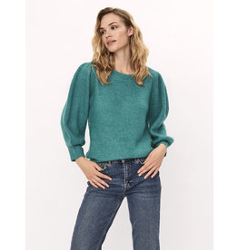 NOELLA PUFFSLEEVE PULL GREEN