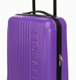 Leonardo Luxe handbagage koffer (lila)