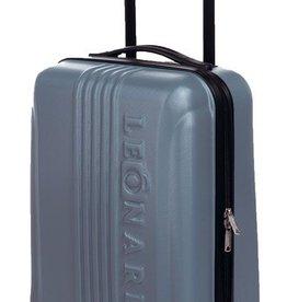 Leonardo Luxe trolley / cabin size (zilver)