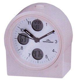 Commodoor Tafelklok thermo / hydro, radiogestuurd